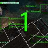 The location of Raindancer, and Whisperwind. Also includes the binding locations for Stonewall, Aether, and Weatherwitch.