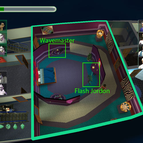 Location of Flash Jordon and the urn that she is bound to. Also includes the binding location for Wavemaster.
