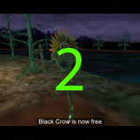 You must destroy the cabin to free Black Crow. A Quake or repeatedly using Tremor next to the cabin will work nicely.