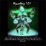 Detailed walkthrough for the Haunting 101 assignment from Ghost Master.